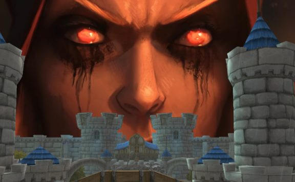 WoW Sylvanas Stormwind evil looking title 1140×445