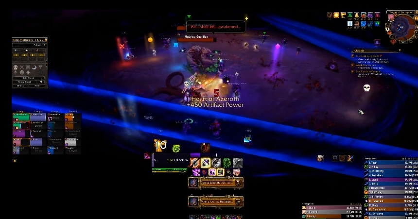 WoW World First Uunat Pieces Guild