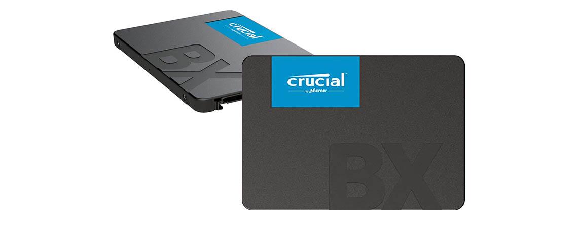 Crucial SSD bereits ab 19 Euro – 120 GB bis 960 GB im Angebot bei Amazon