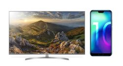 Amazon Angebot LG 4K TV und Honor