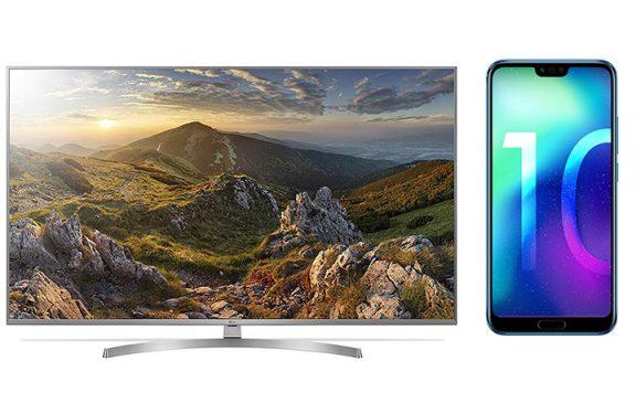 Amazon Angebot LG 4K TV und Honor