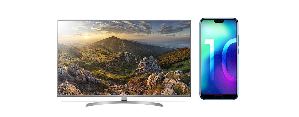 LG 4K TV zum Bestpreis, Honor 10 Handy günstiger –  Amazon Angebote