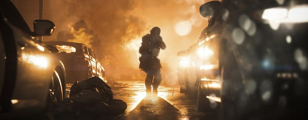 cod modern warfare soldat