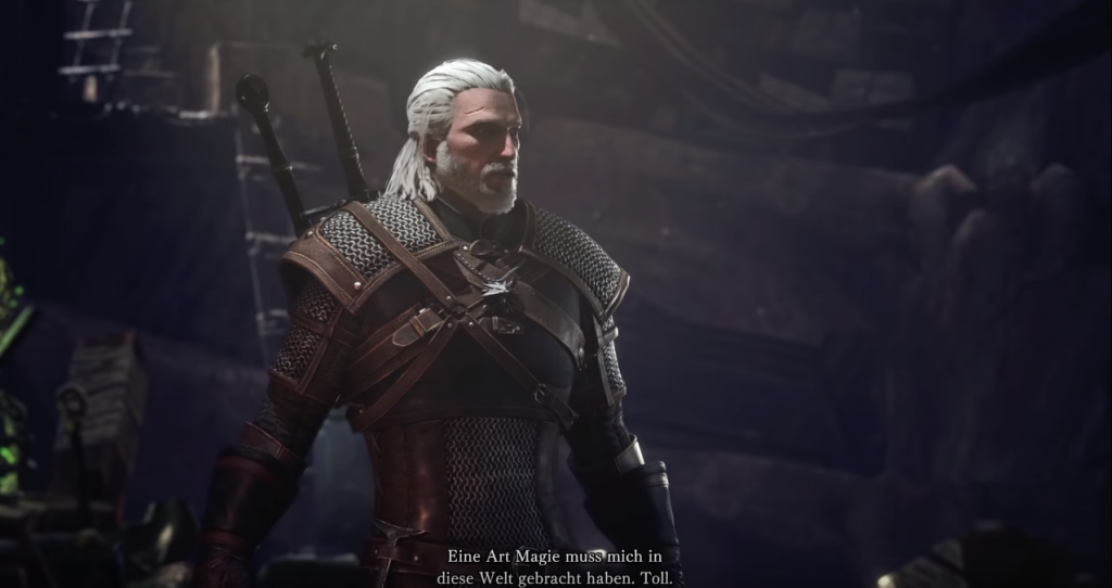 monster hunter world geralt