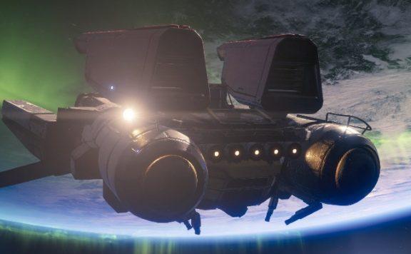 Destiny 2 Altmetall Schiff