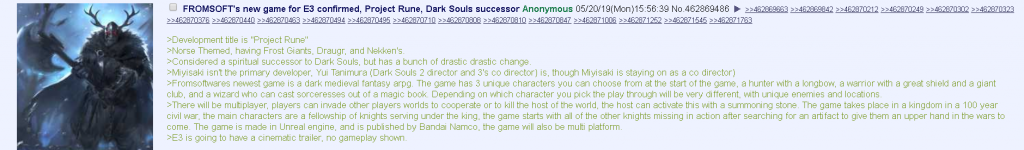 From Software Rumors GRRM