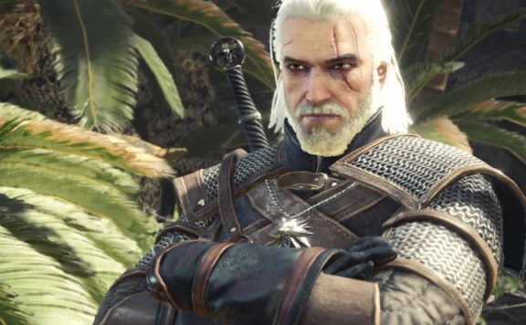 monster hunter world geralt header
