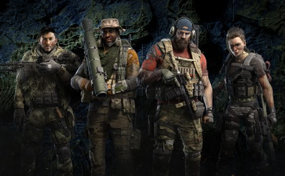Ghost Recon Breakpoint Charaktere
