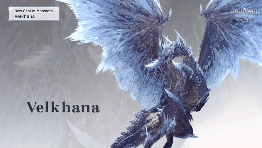 Monster Hunter World - Iceborne, Drachenälteste Velkhana