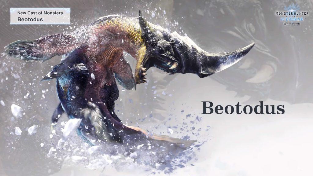 Monster Hunter World Beotodus