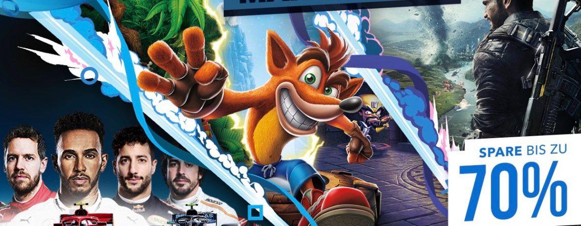 Spart bis zu 70 % auf zahlreiche PS4-Games bei den Mai-Rabatten im PS Store