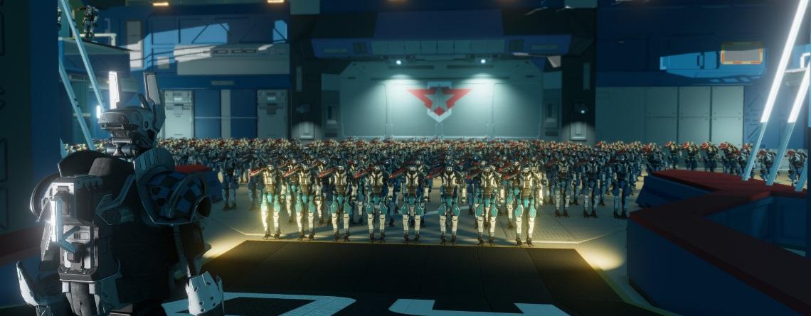 Ihr wartet auf Star Citizen? Dann schaut euch mal das neue MMO Starbase an