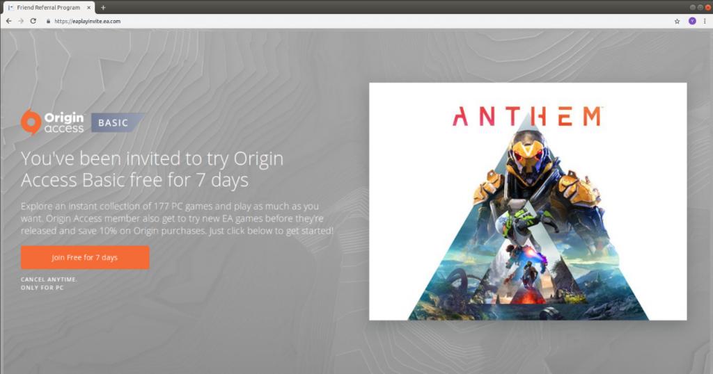 Anthem-Fake-Page