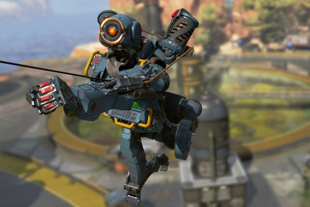 Apex Legends Pathfinder mit Haken