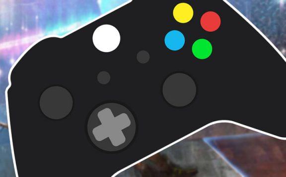 Apex Legends Spieler regelt mit Controller auf PC