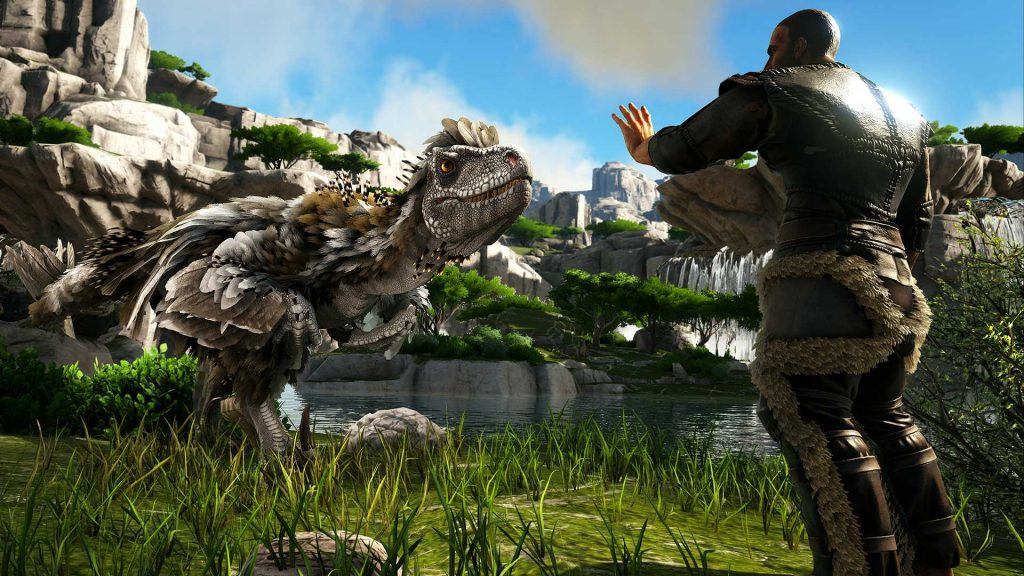 Ark Deinoncyhus neuer Dino auf neuer Karte Valguero 2