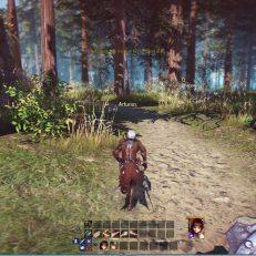 Astellia Quest-Gebiet Wald Screenshot