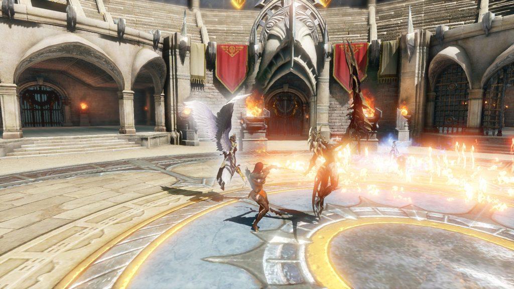 astellia mmorpg gameplay screenshot