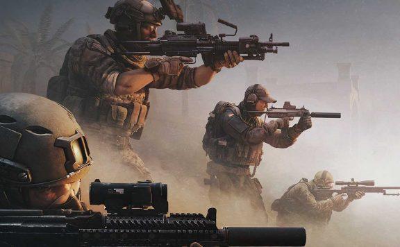 Caliber Soldaten in der Wüste Titel