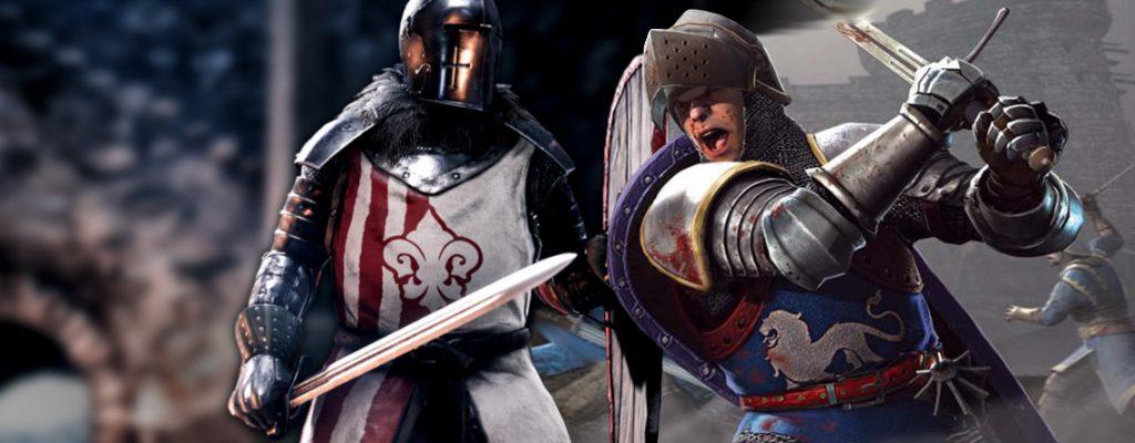 Chivalry vs Mordhau epische Schalcht mit Rittern Titelbild