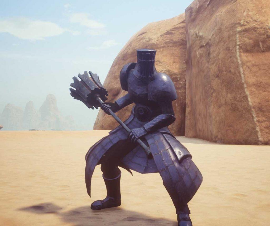 Conan Exiles Götterbrecher Set mit Schwarzherz Hammer