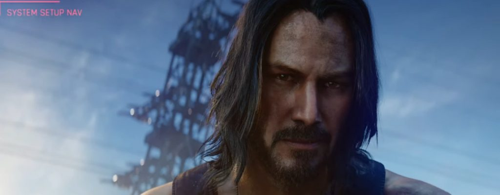 Keanu Reeves als Johnny Silverhand in Cyberpunk 2077