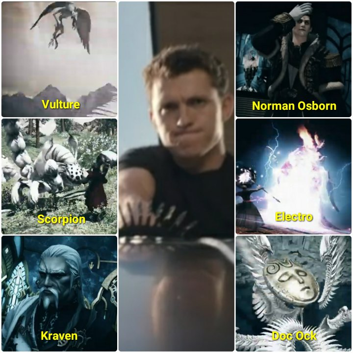 final fantasy xiv tom holland sinister six meme