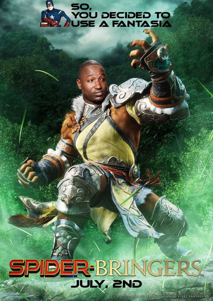 final fantasy xiv hannibal buress mönch meme
