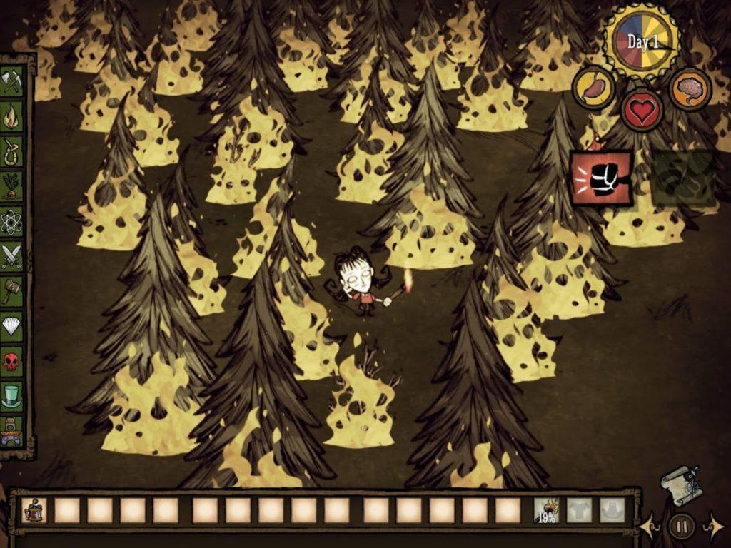 Dont Starve Pocket Edition Mobile Gameplay Screenshot