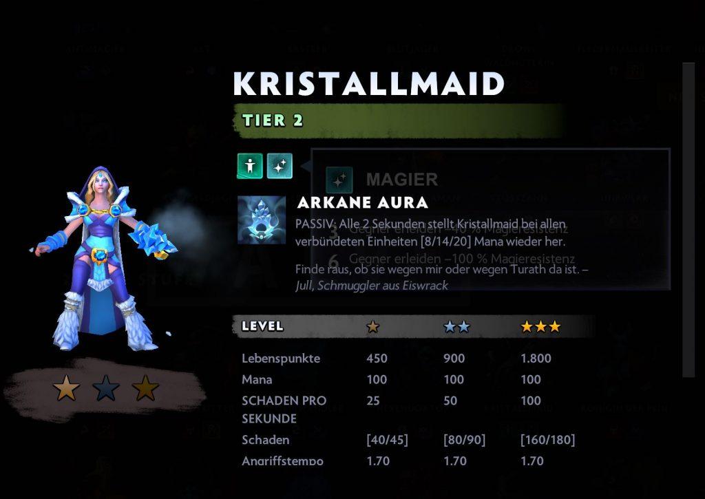 Dota-Kristallmaid