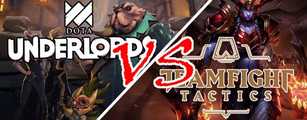 Dota Underlords vs Teamfight Tactics Titel 2