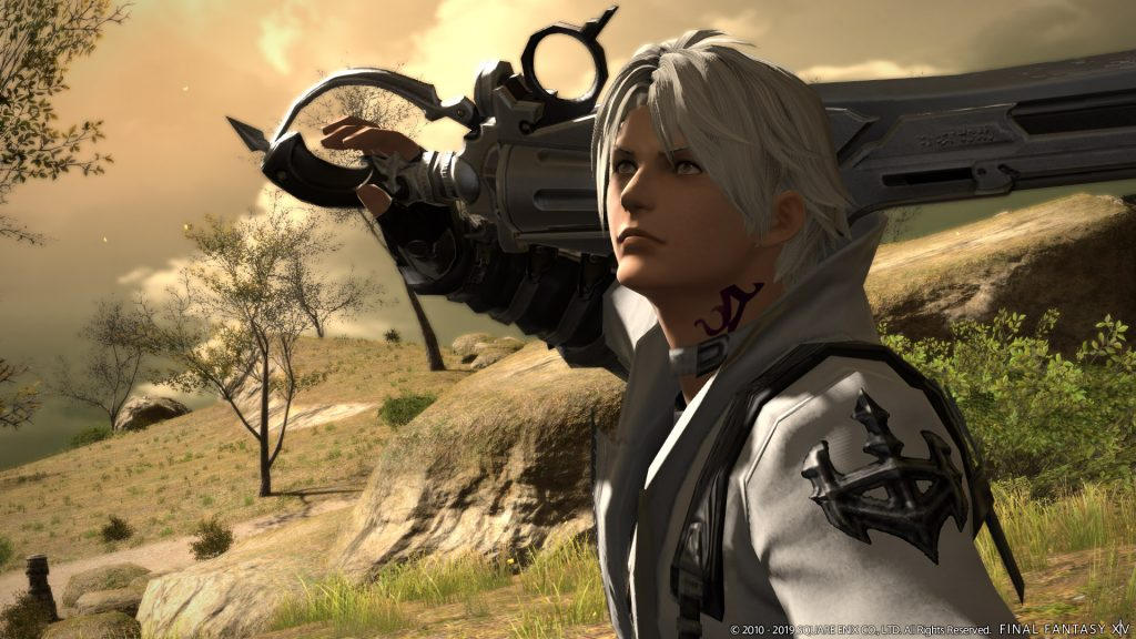 final fantasy xiv thancred revolverklinge