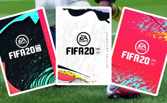 FIFA 20 Editionen Titel