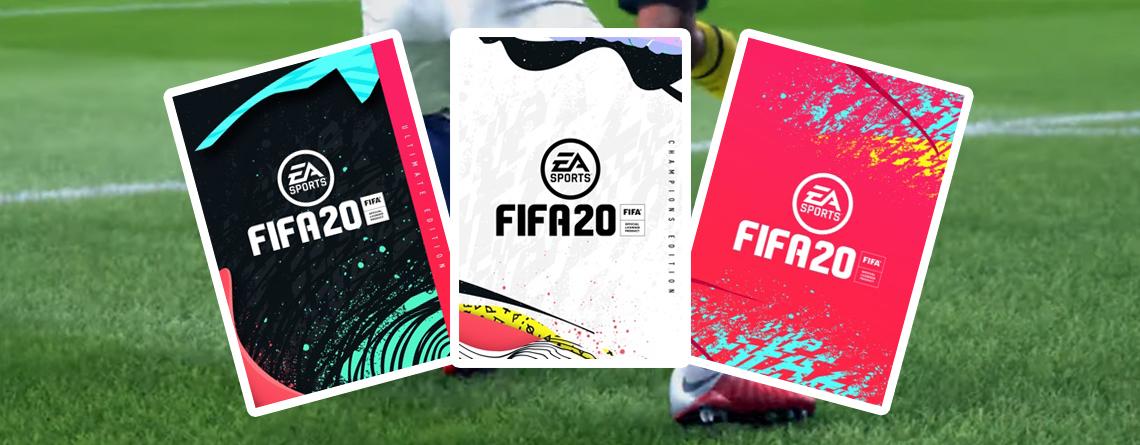 FIFA 20 vorbestellen auf PS4, Xbox One, PC – Das steckt in den 3 Editionen
