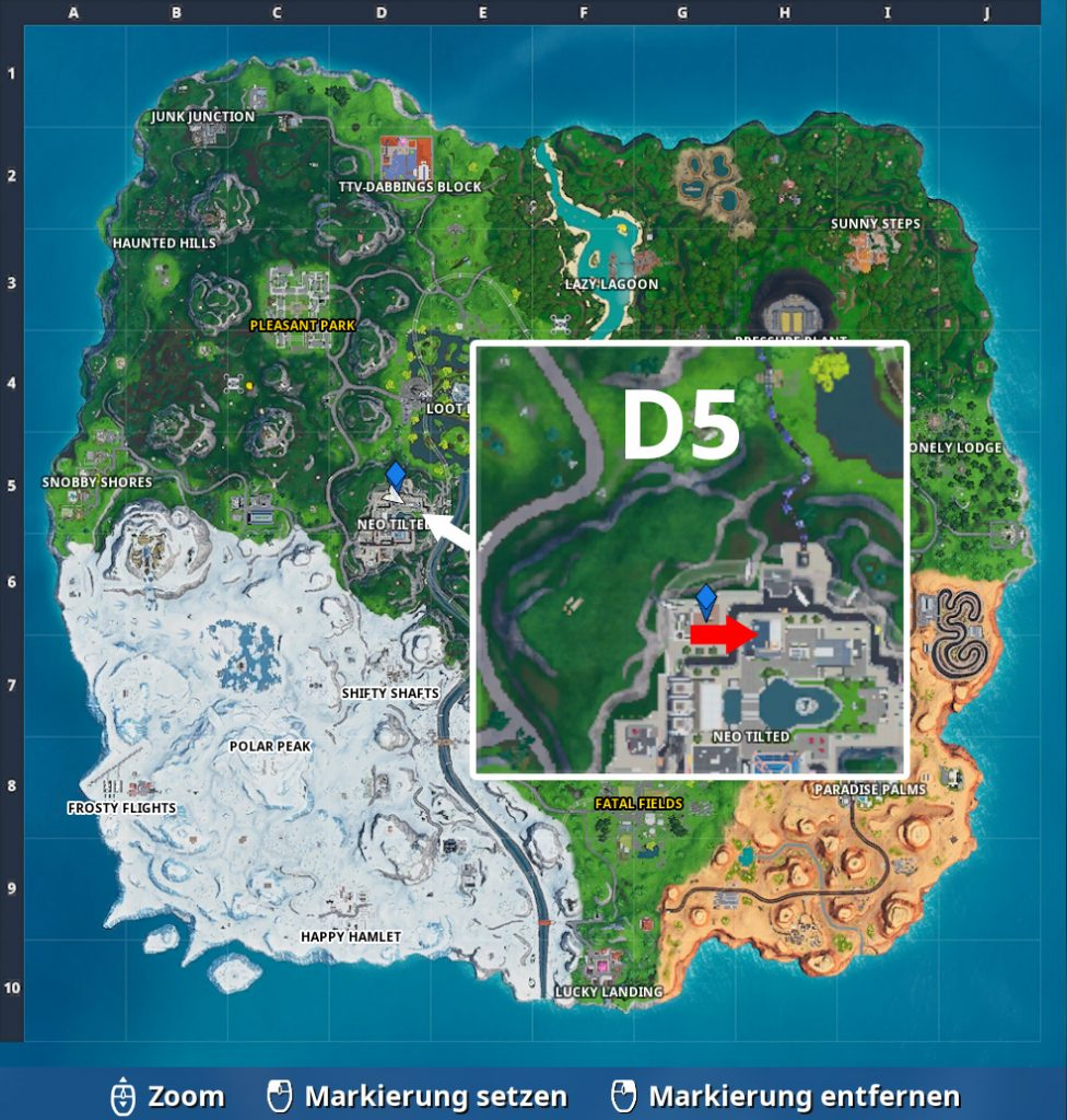 FN Fortbyte 100 Map