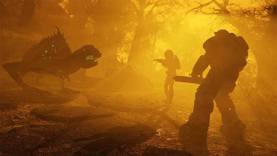 Fallout 76 Nuclear Winter Kampf gegen Viecher