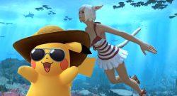 Sommer Pikachu FFXIV