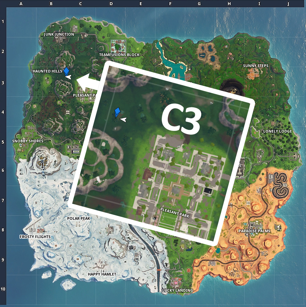Fortnite Fortbyte C3