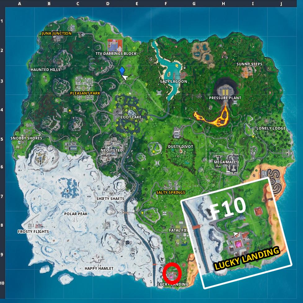 Fortnite Map Fortbyte 97