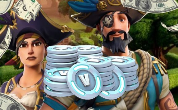 Fortnite V-Bucks Titel Geld