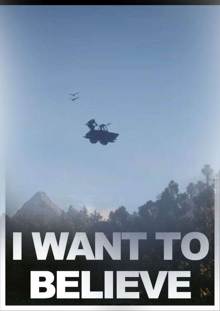 Red Dead Redemption 2 I want to believe