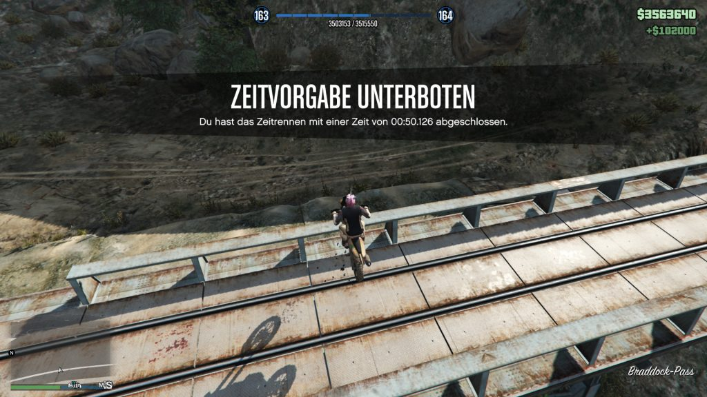 GTA Online Chiliad Ziel