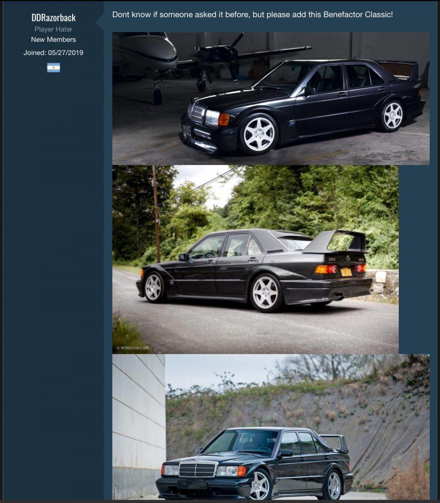 GTA Online Benz