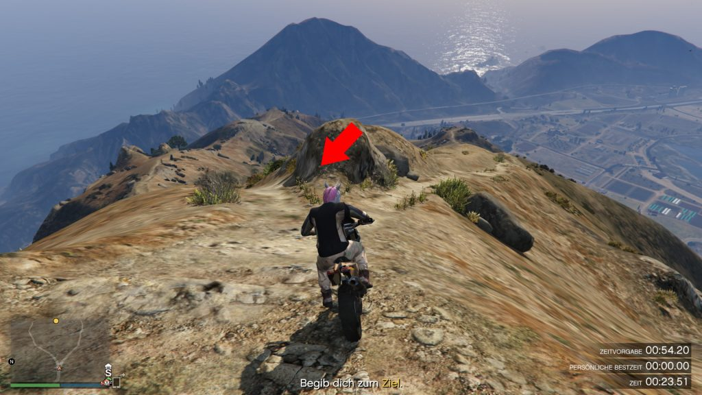 GTA Online Chiliad Bergab Kreuzung
