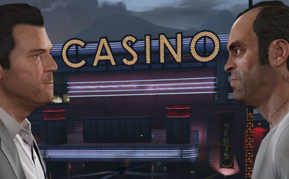 GTA Online Michael Trevor Casino Titel