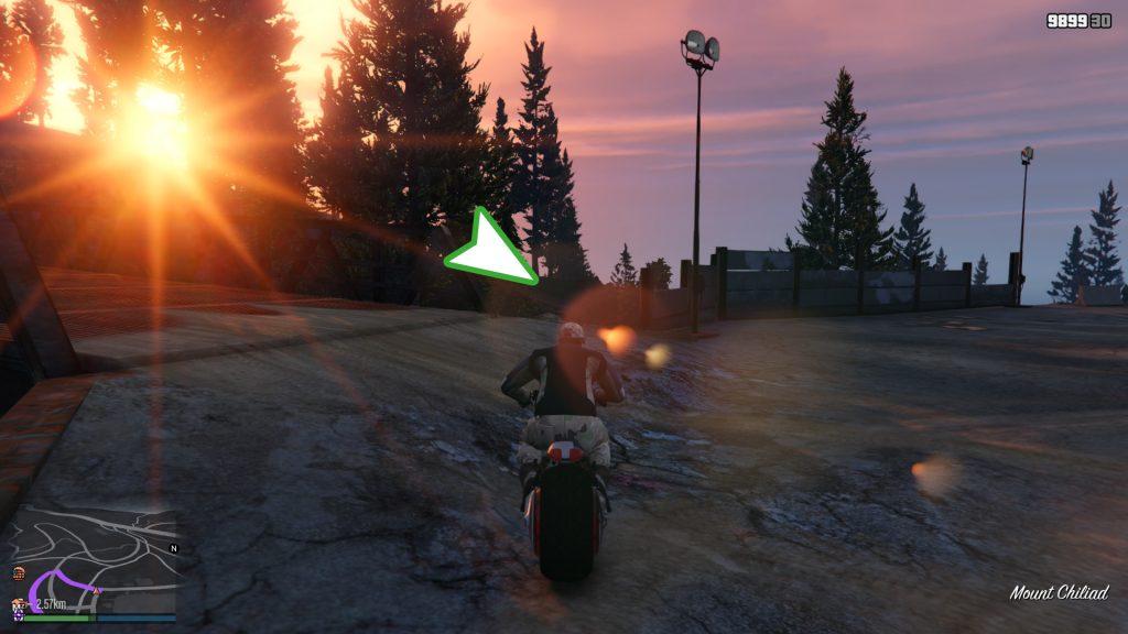 GTA Online Vinewood Bowl Spalt Gelände