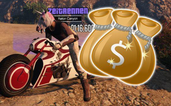 GTA Online Zeitrennen Raton Canyon Titel