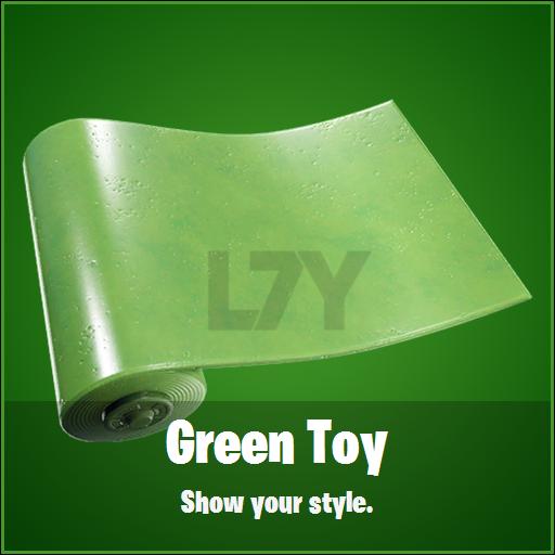 FN Skin Leak Green Toy