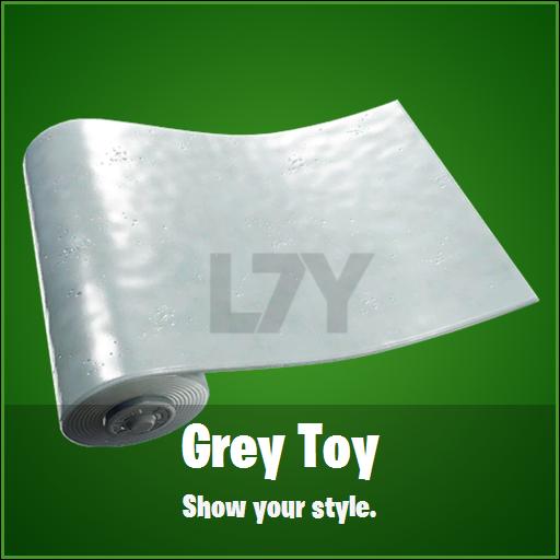 FN Skin Leak Grey Toy