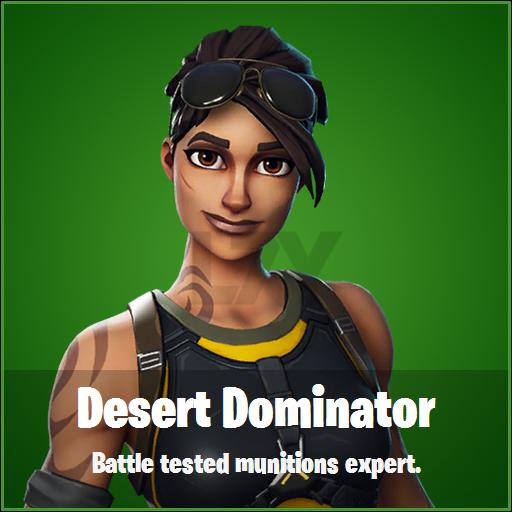 FN Skin Leak Desert Dominator